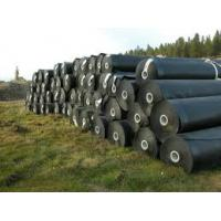 Black HDPE Geomembrane Liner For Mining / 1.0mm Thickness CE
