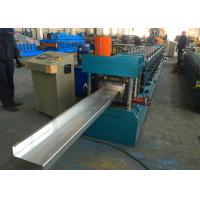 Z Purlin Roll Forming Machine , Z100 - 250 Steel Purlin Making Machine Manufactures