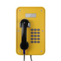 Watertight Industrial Analog Phone Corrosion Resistant With LCD Display Manufactures