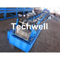 Steel Structure C Shaped Purlin Roll Forming Machine for Making C Purlin Profile by Chain Drive Manufactures