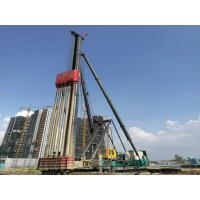 China High Stability Screw Pile Machine , Screw Pile Driver 44KW Motor Power on sale