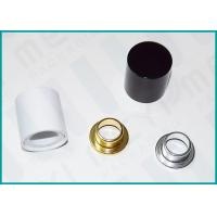 China Magnetic Perfume Bottle Caps / Spray Bottle Cap With Aluminum Stepped Collar on sale