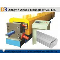 Buy cheap PPGI Downspout Roll Forming Machine , Steel Roll Formers With 10m / Min Speed from wholesalers