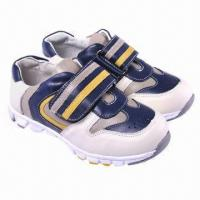 Children's Sports Shoes with EVA Outsole, Made of Imported Cow Leather  Manufactures