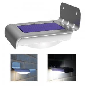 Wireless Solar Powered Motion Sensor Light , Solar Led Lights Outdoor Manufactures