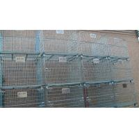 Buy cheap Stacking 4 Tier Wire Mesh Containers Collapsible Wire Cage Without Rack System from wholesalers