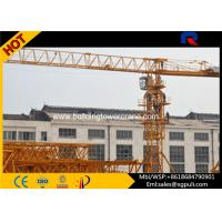 Rail Mounted Hydraulic Tower Crane Lift Machine For Construction PT5010 Manufactures