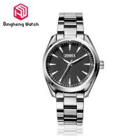 Water Resistant Mens Metal Strap Watches , Black Stainless Steel Watch Mens Manufactures
