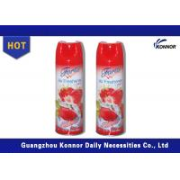 300ml Household Canned Air Freshener Sprays With Tinplate Material Manufactures