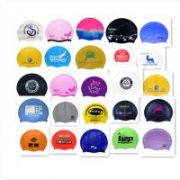 Quality custom swim cap no minimum for sale