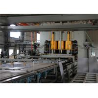 Automatic Melamine Paper Laminating Machine / Laying Machine High Efficiency Manufactures