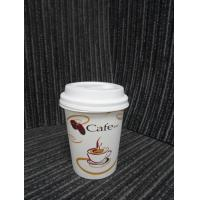 Eco-Friendly Biodegradable Paper Cups 3oz - 16oz For Coffee / Beverage Manufactures