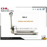 China High efficiency Stainless Steel  Hand Pallet Jack In Warehouse on sale