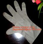 Wholesale gloves transparent plastic glove disposable clear pe medical glove