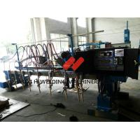 Double Drive CNC Flame Plasma Cutting Machine Aluminum With Nine Strip Cutting Torches Manufactures