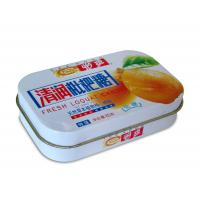 Seamless Rectangulare Metal Tin box for Candy and Mint and Gift cards packaging Manufactures