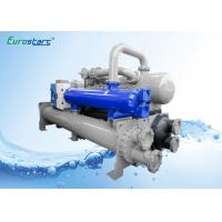 60HZ Heat Recovery Water Cooled Water Chiller Anti Freeze Longer Machine Life Manufactures