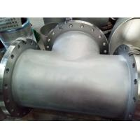 China Butt Weld Fittings B366 Hastelloy C-276 BW Straight TEE welded with Flange 24'' on sale