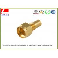 High precision Lathe Turning Brass Machined Parts For motorcycle spare parts Manufactures