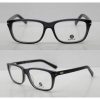 China Lightweight Classic Acetate Glasses Frames For Men / Women To Protect Eyes on sale