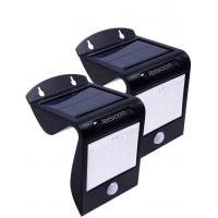 20 Led solar powered outdoor lighting Dusk To Dawn Wall Light Auto On / Off with motion sensor Manufactures