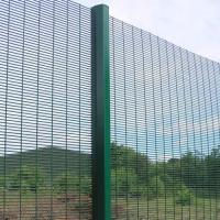 358 Safety Welded Mesh Fence , Welded Metal Fence Panels Powder Coated Manufactures