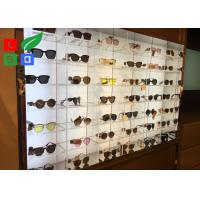 Quality Illuminated LED Shop Display DC 12V Sunglasses LED Display With Acrylic Case for sale