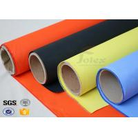 Fireblanket Fiberglass Silicone Coated Fiberglass Fabric Fireproof Cloth Manufactures