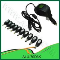 China Dc 70w Universal Laptop Adapter For Car Use on sale