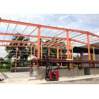 Quality Industrial Portable Hall Steel Structure Warehouse Prefab Custom Color for sale