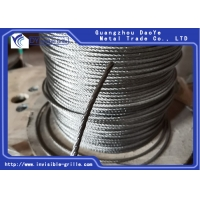China 7X7 Stainless Steel Wire Rope Cable Railing Decking DIY Balustrade on sale