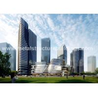 China Modern Design Pre Engineered Metal Buildings , Prefabricated Steel Structures on sale