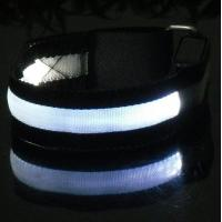 Quality LOGO Safty LED Flash Armband for sale