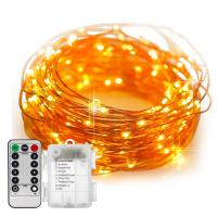China 4.5v Copper Wire Christmas Lights Battery Operated Outdoor Fairy Lights on sale