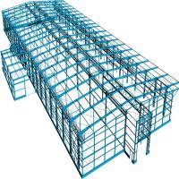Prefab Portable Steel Frame Workshop Buildings With Light Steel Structure Manufactures