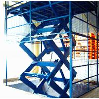 Movable Electric Scissor Lift Platform , Scissor Lift Work Platform HighLoading Capacity Manufactures