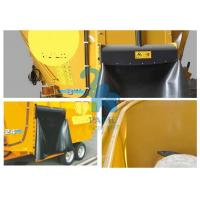 Oversized Animal Feed Mixer Wagons For Cattle Farms 9600kgs Loading Capacity Manufactures