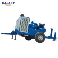 China 49.2HP 100KN Underground Cable Pulling Equipment Hydraulic Puller Machine on sale