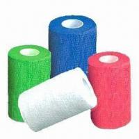 Elastic Adhesive Bandages, Nonwoven Material, with Different Colors, Easier Than Traditional Bandage Manufactures