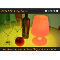 Indoor RGB Cordless LED Table Lamp For Bar / KTV / Wedding , Battery Operated Manufactures