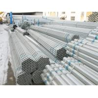 ASTM A53 GR.B 8 inch Weld Galvanized Steel Pipe Custom With PE BE Coated Manufactures