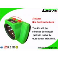 China Small Size Cordless Hard Hat Headlamp IP68 25000lux High Brightness GLC-6S on sale