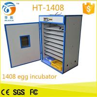 China 1500 eggs wholesale price automatic egg incubator turnin for sale (CE Approved) HT-1408 hot in Italy on sale