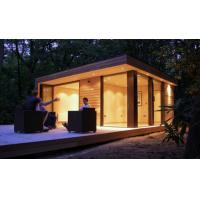 Yellow Light Steel Guage Frame Cheap Prefab Garden Studio with Small Size Manufactures
