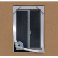 Anti strong wind mosquito proof DIY Magnetic Fiberglass Insect Window Screen System Manufactures