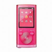 Credit Card MP3 Player with Rechargeable Lithium Battery through USB Manufactures