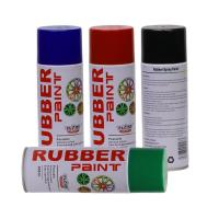 China Aerosol Rubber Spray Paint / Plastic Dip Spray Fast Drying Anti -  Corrosion on sale