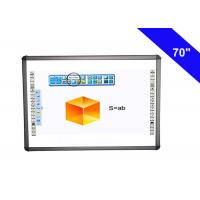 Portable Electronic Smart Board Interactive Whiteboard For Education 50000Hrs Life Manufactures