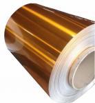 Extra Wide Painted Aluminium Coil Color Coated Aluminium Coil Excellent Flatness Manufactures