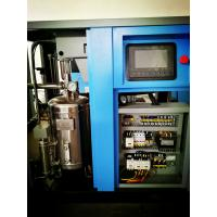 Silent oil free air compressor for food industrial 100% oil free single screw air compressor Manufactures